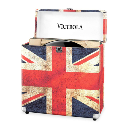 Victrola Retro Platenkoffer Union Jack