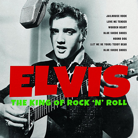 Elvis Presley - The King Of Rock 'N' Roll LP