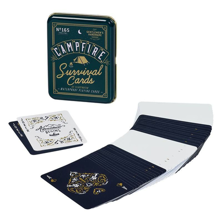 Gentlemen's Hardware Retro Campfire Games Survival Cards Kaartspel