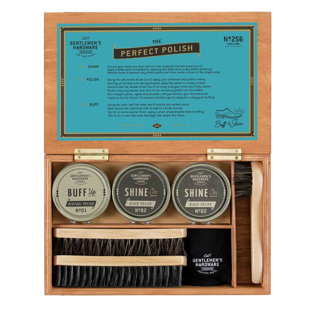 Gentlemen's Hardware Retro Shoe Shine Kit