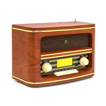 GPO Winchester Retro Radio DAB+ Wood