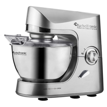 TurboTronic Pro-Mix TT-002 Retro Keukenmachine Zilver