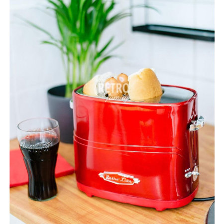 Retro Line Hot dog Machine Pop-Up Toaster
