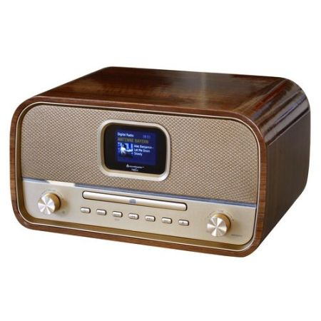 Soundmaster DAB990 Retro DAB+ BT Radio CD-Speler Gold