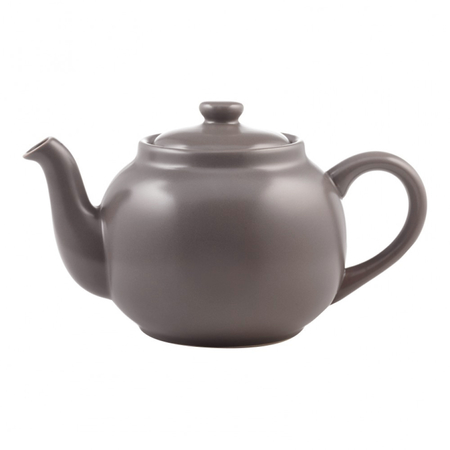 PLINT Retro Theepot 1.5 Liter Almost Black