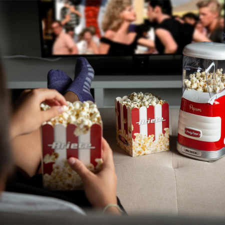 Ariete Popcorn Machine Party Time Rood