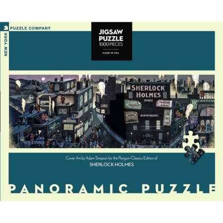 New York Puzzle Company - Sherlock Holmes 1000-delige Puzzel