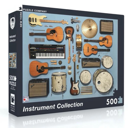 New York Puzzle Company - Instrument Collection 500-delige Puzzel