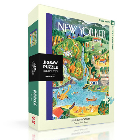 New York Puzzle Company - Summer Vacation 500-delige Puzzel
