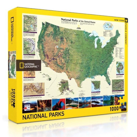 New York Puzzle Company - National Geographic 1000-delige Puzzel