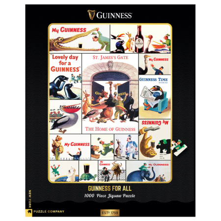 New York Puzzle Company - Guiness For All 1000-delige Puzzel