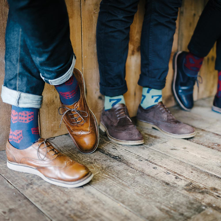 Gentlemen's Hardware Retro Lucky Socks