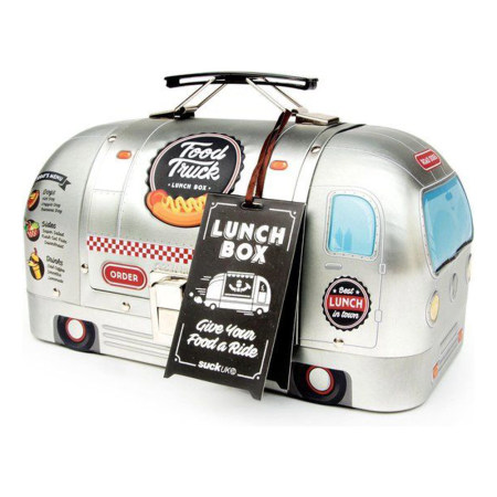 American Diner Foodtruck Retro Lunchbox