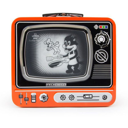 Retro TV Lunchbox van SUCK UK