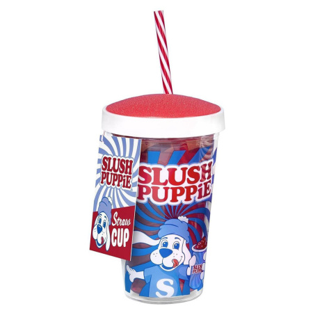 Fizz Slush Puppy To-Go Beker met Rietje
