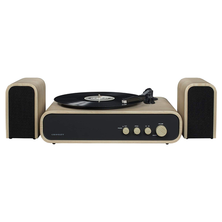 Crosley Gig Retro Platenspeler Bluetooth met Externe Speakers