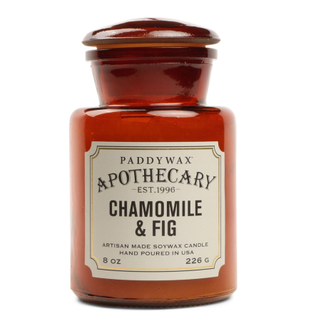 Gentlemens Hardware Glass Candle – Chamomile + Fig
