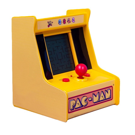 FIZZ Retro Desktop Mini Arcade Machine Pac-Man