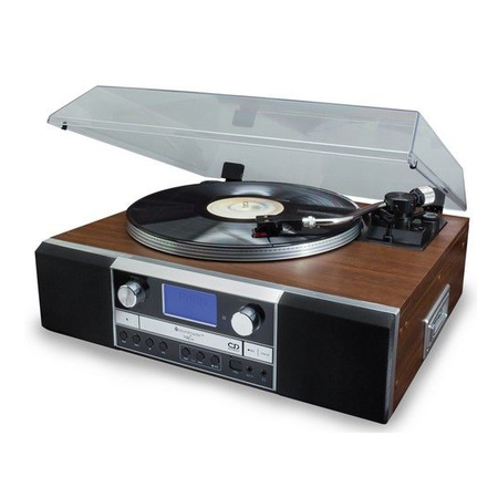 Soundmaster PL905 Music Center CD Brander