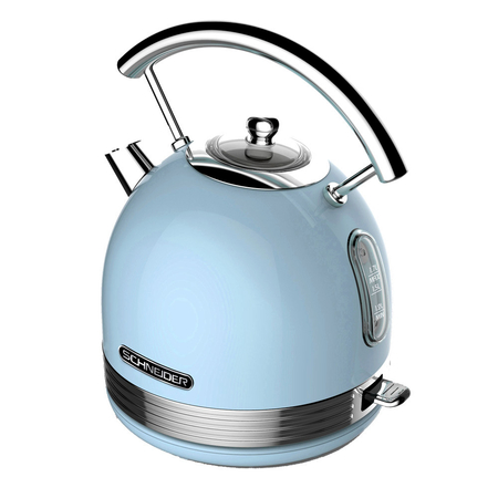 Schneider SL W2 LB Retro Waterkoker Light Blue