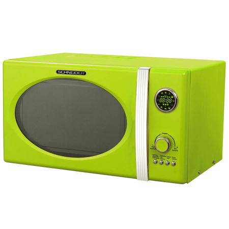 Schneider MW 823G LG Grill Combimagnetron Lime Green