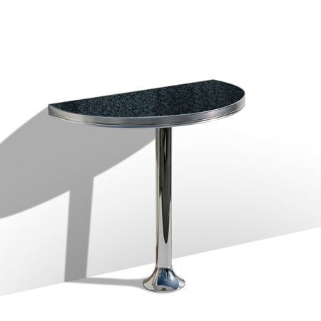 Bel Air Retro Wandtafel WO-12/TB-103 Blackstone