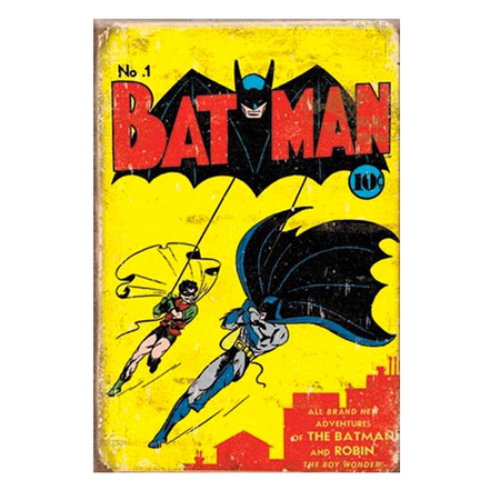 Metalen Retro Bord Batman #1 Cover