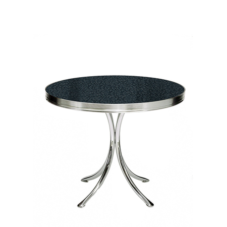 Bel Air TO-19 Retro Tafel Blackstone