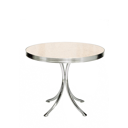 Bel Air TO-19 Retro Tafel Antique White