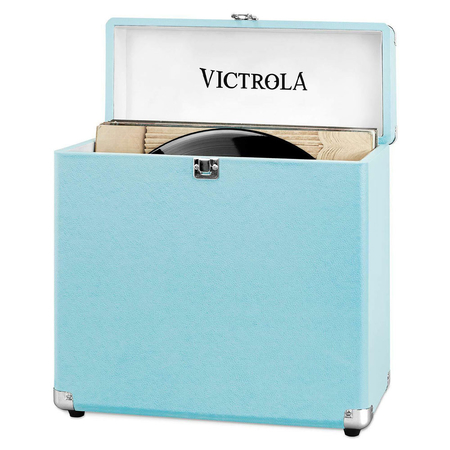 Victrola Retro Platenkoffer Turquoise