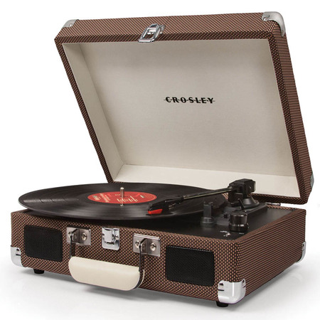 Crosley Cruiser Deluxe Platenspeler Tweed