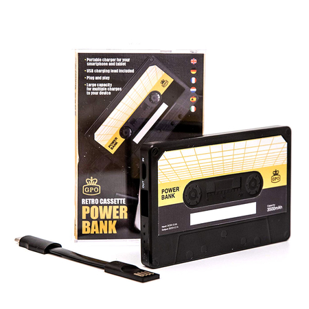 GPO PWRBANK Retro Powerbank