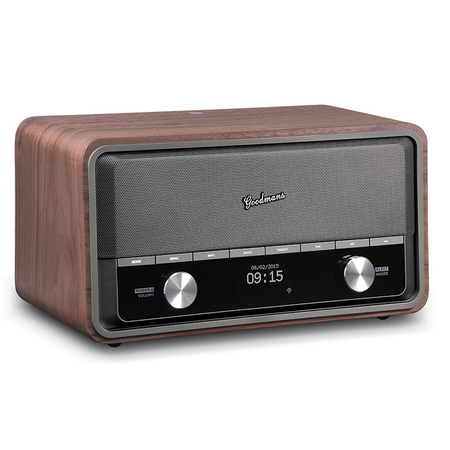 Goodmans Heritage 2 Connect Wifi DAB+ Bluetooth Radio