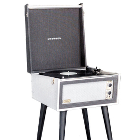 Crosley Bermuda Retro Platenspeler Bluetooth Antraciet