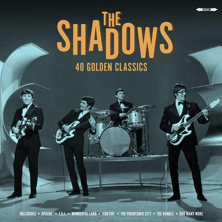 The Shadows - 40 Golden Classics LP