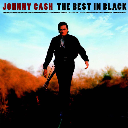 Johnny Cash - The Best In Black LP