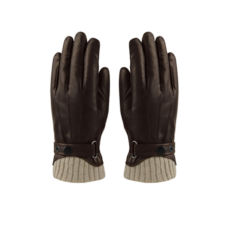 Hatland Retro Winterhandschoenen Tygo Leather Bruin