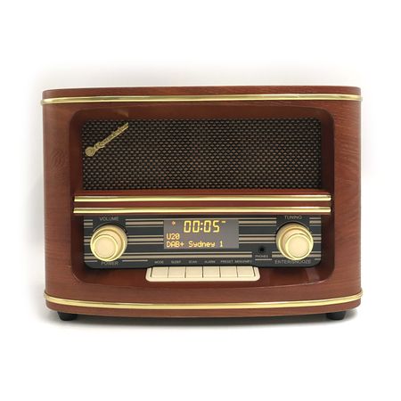 Roadstar Retro Radio HRA-1500 DAB+