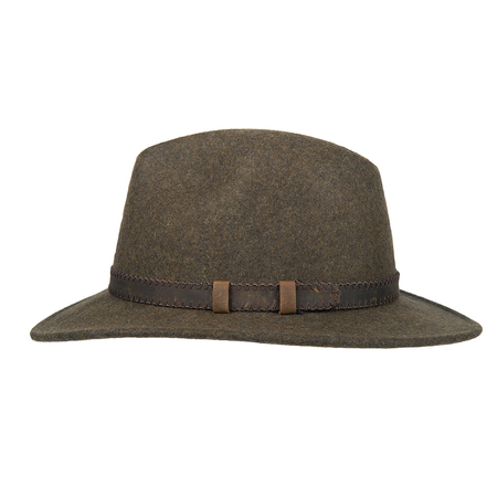 Hatland Stanfield Crushable Hoed Olive