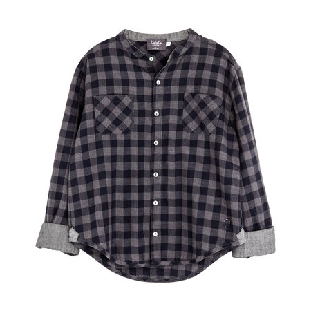 Tocoto Vintage Plaid Shirt Navy